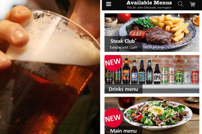 All drinks, no queues thanks to the Wetherspoon Order & Pay app