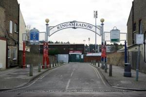 The clash will take place at the Kingsmeadow stadium
