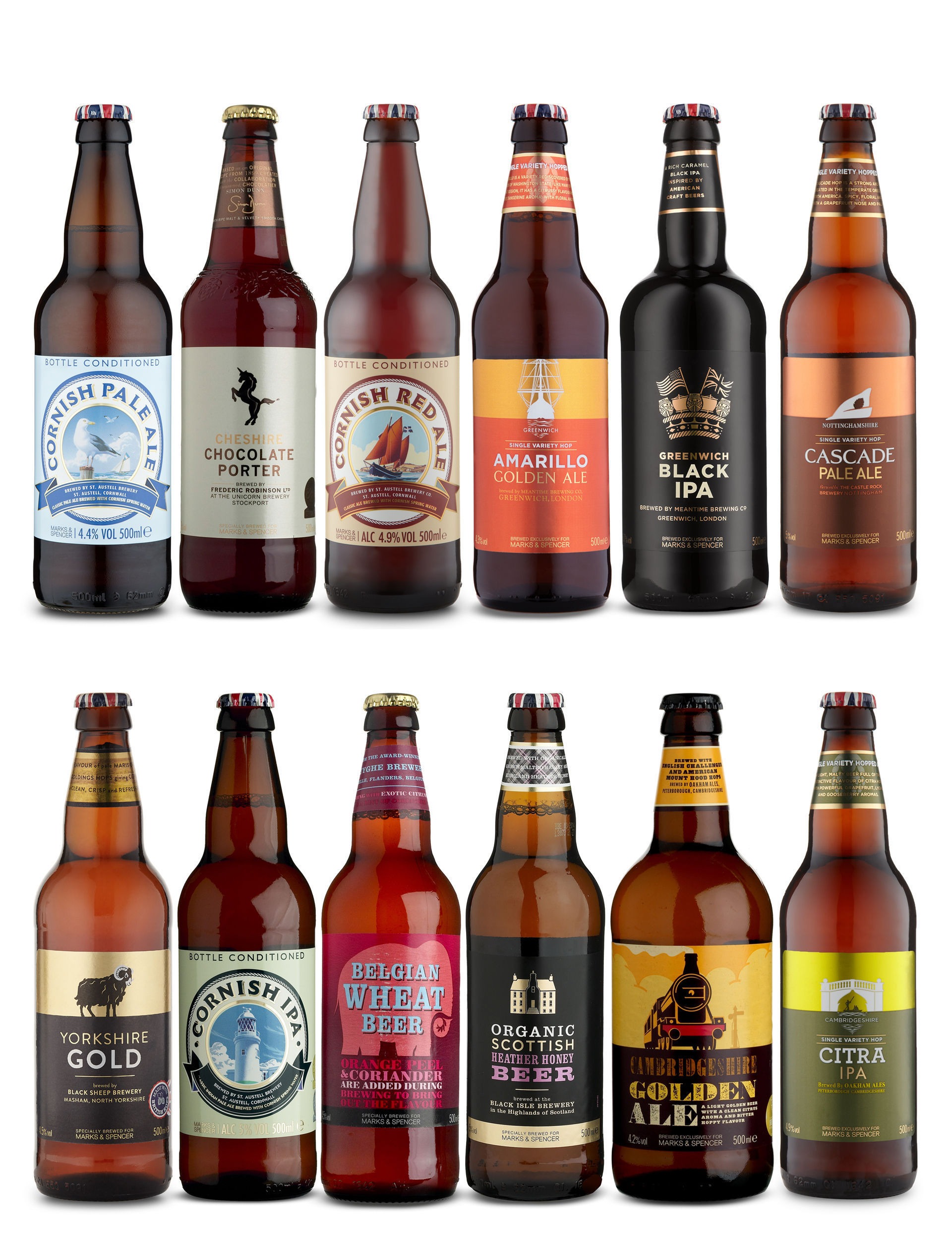 A selection of beer selected especially for women has been launched by Marks and Spencer for Mother's Day
