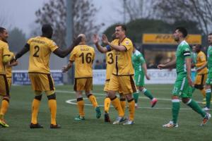 Sutton United came away from a tough trip to Maidstone United with a point on Tuesday night. Picture: Paul Loughlin