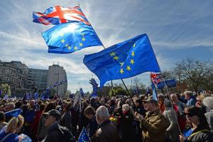 Thousands of pro-EU protesters take to the streets