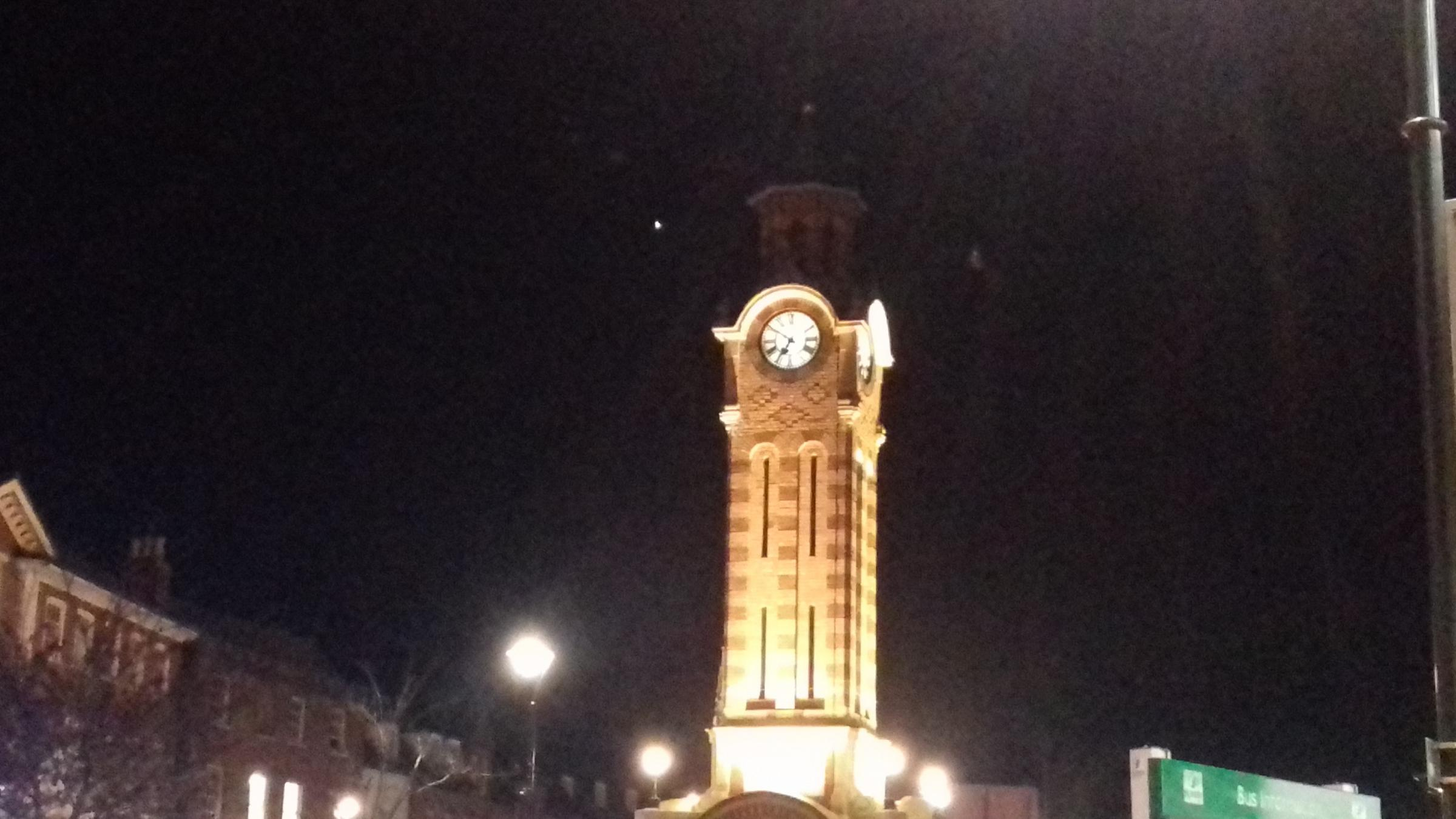 The clock tower in Epsom High Street. Pic credit: Craig Minter