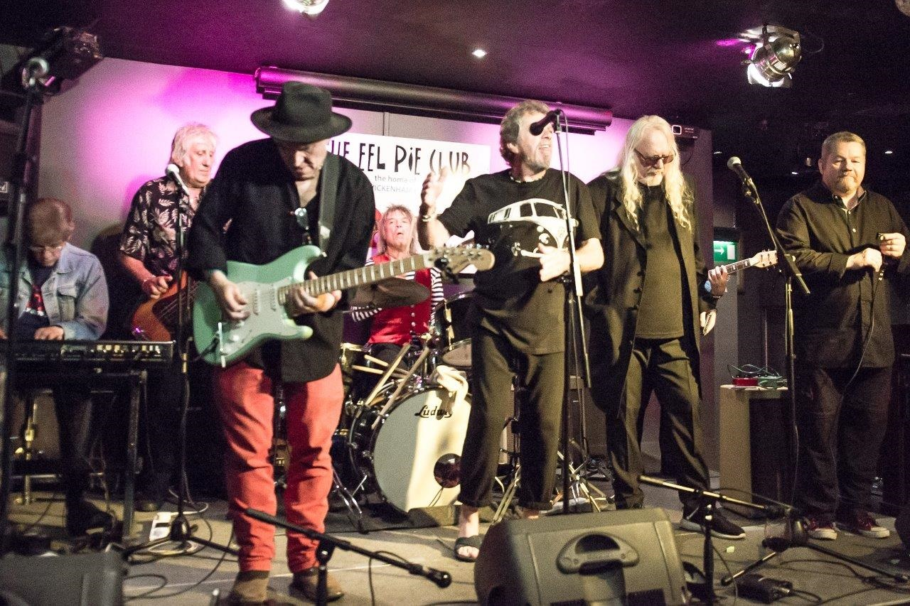 Eel Pie All-Stars play for Prostate Cancer UK