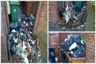 There are fears that overflowing bins and bags of rubbish around Sutton could be targeted by arsonists