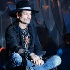 Your Local Guardian: Johnny Depp duetted with Kris Kristofferson at Glastonbury
