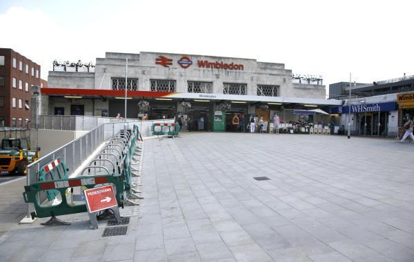 WImbledon Station is one of the most unpopular stations in Britain