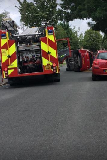 Road closed after crash in North Cheam | Your Local Guardian