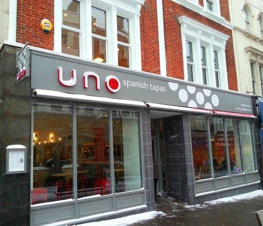 Pizza Express Prepare To Take Over From Uno Tapas On Sutton