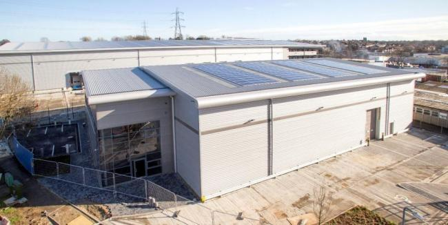 New industrial unit in Sutton has been let out to Korean