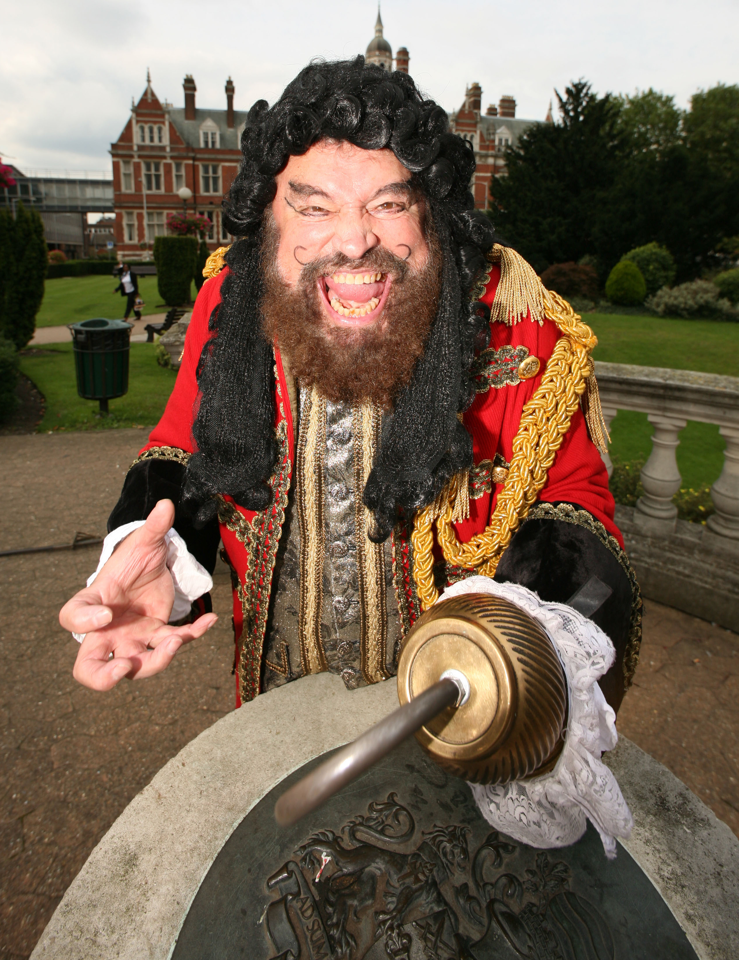 Panto: Brian Blessed stars as Captain Hook at the Fairfield Halls this winter