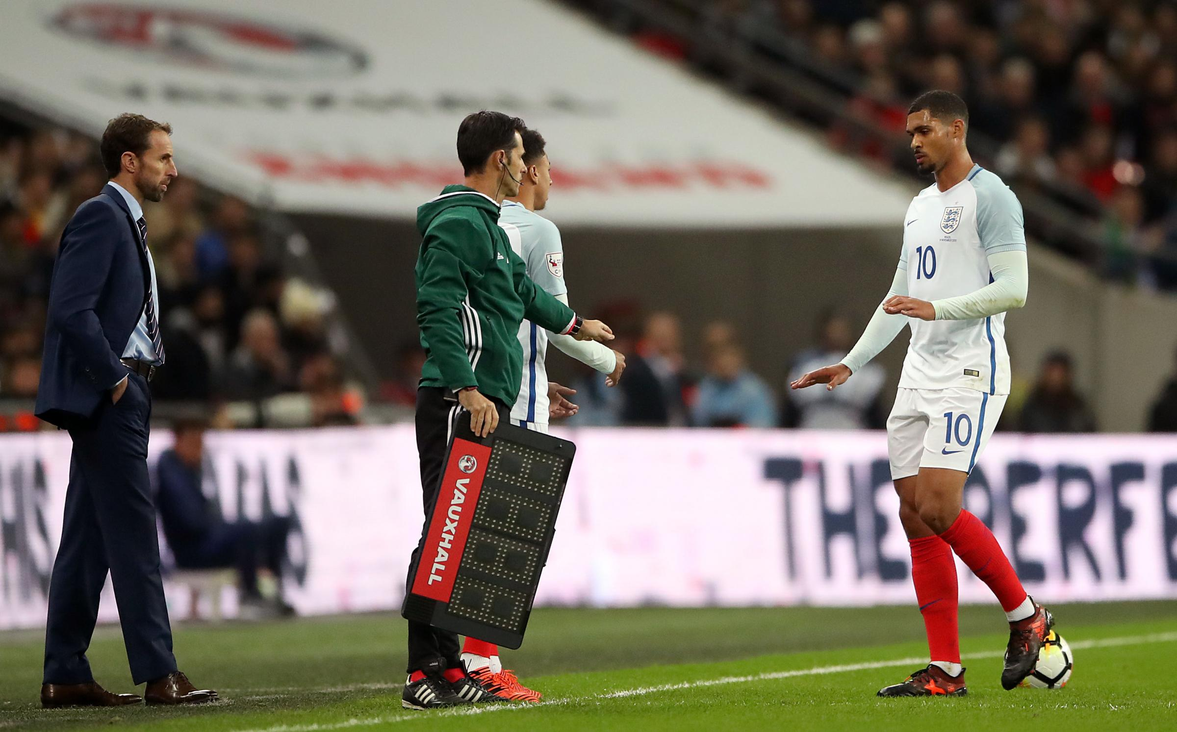 Ruben Loftus-Cheek leaves the pitch with an injury | Picture: PA