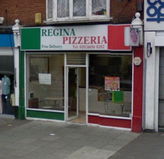 Regina Pizza given a 1 out of 5 food hygiene rating