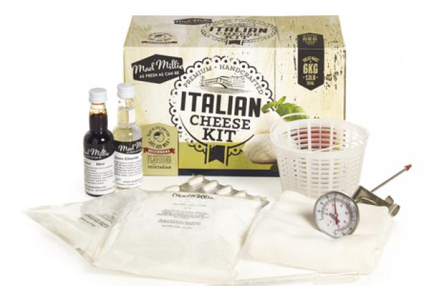 Make Your Own Italian Cheese Kit, £19.99