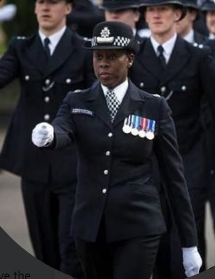 Sutton Police Commander, Robyn Williams