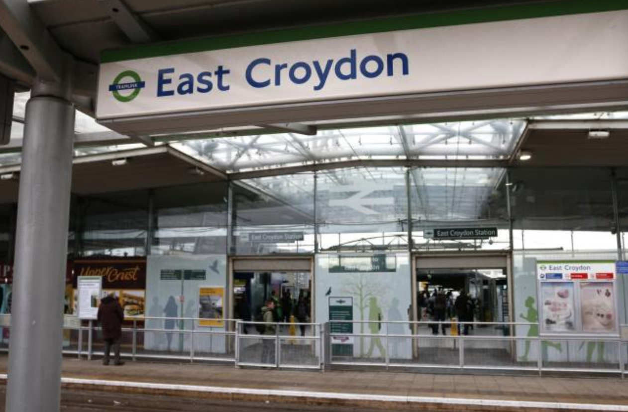 Man dies after being hit by train at East Croydon station