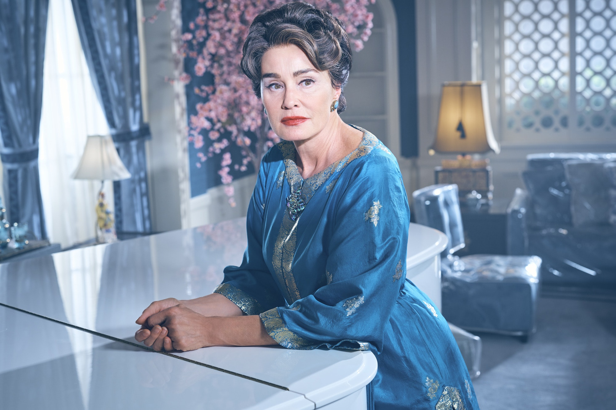 Jessica Lange as Joan Crawford (BBC /Fox)