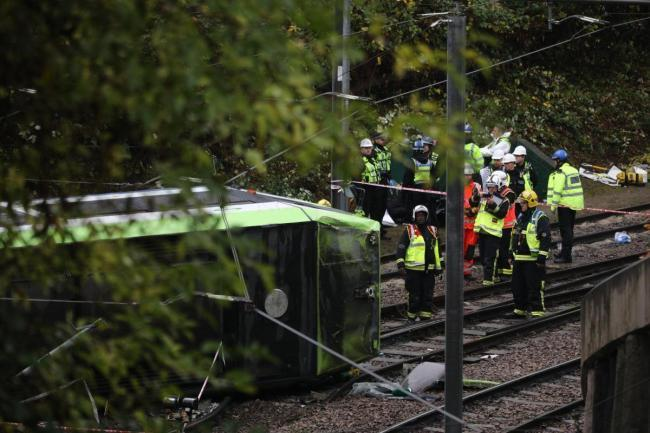 Croydon tram crash could have been avoided, victim's widow claims