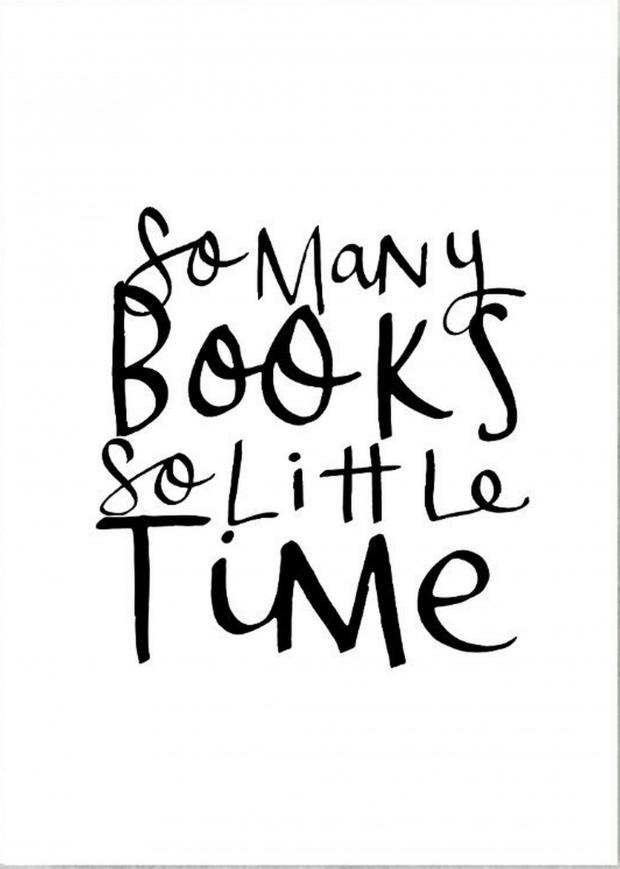 Your Local Guardian: Handmade at Amazon 'So Many Books So Little Time' Print by Violet & Alfie, £15