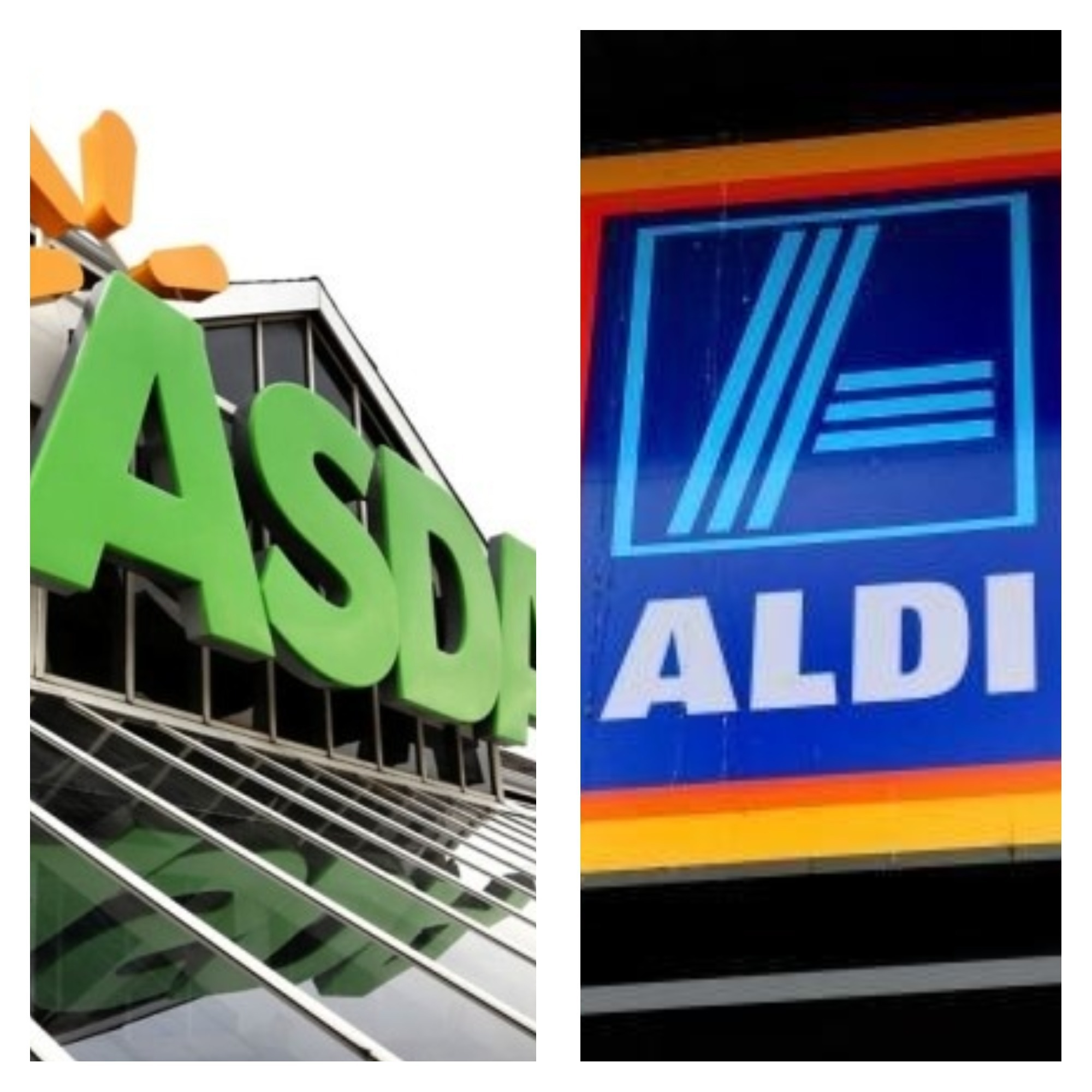 Asda and Aldi