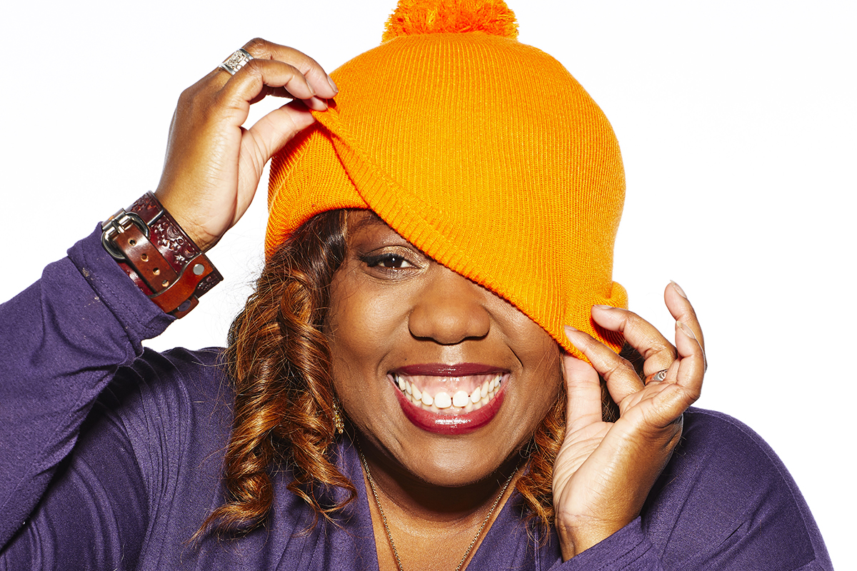 Holby City and Strictly star Chizzy Akudolu is supporting Woolly Hat Day 2018