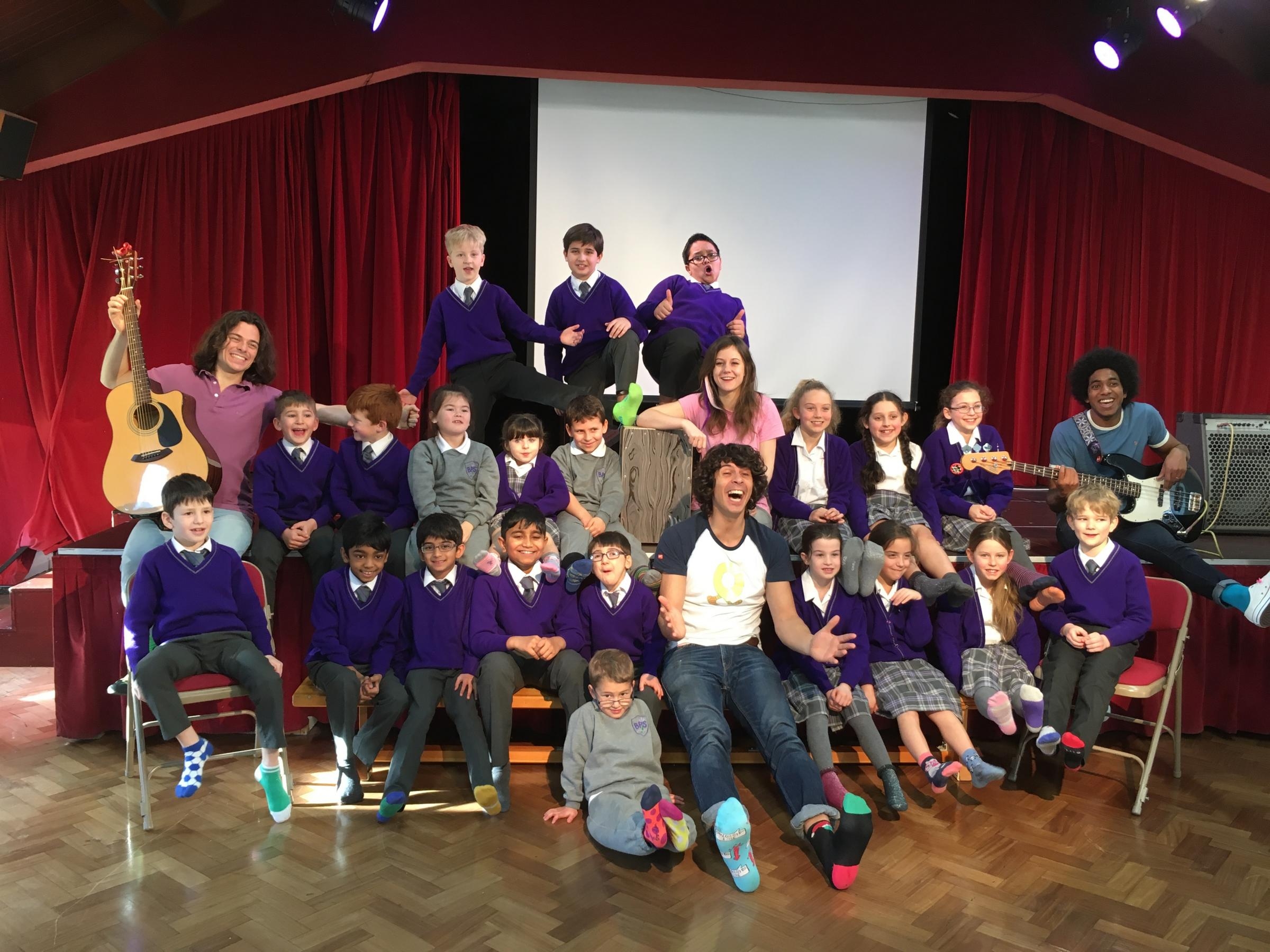 Andy Day and The Odd Socks at Banstead Prep School