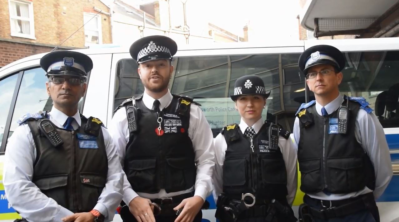 Tooting Town Centre police force