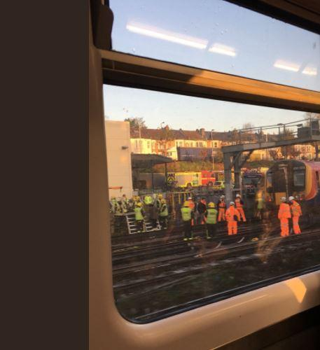 South Western Railway services and the District Line are affected. Photo: David Scanlan
