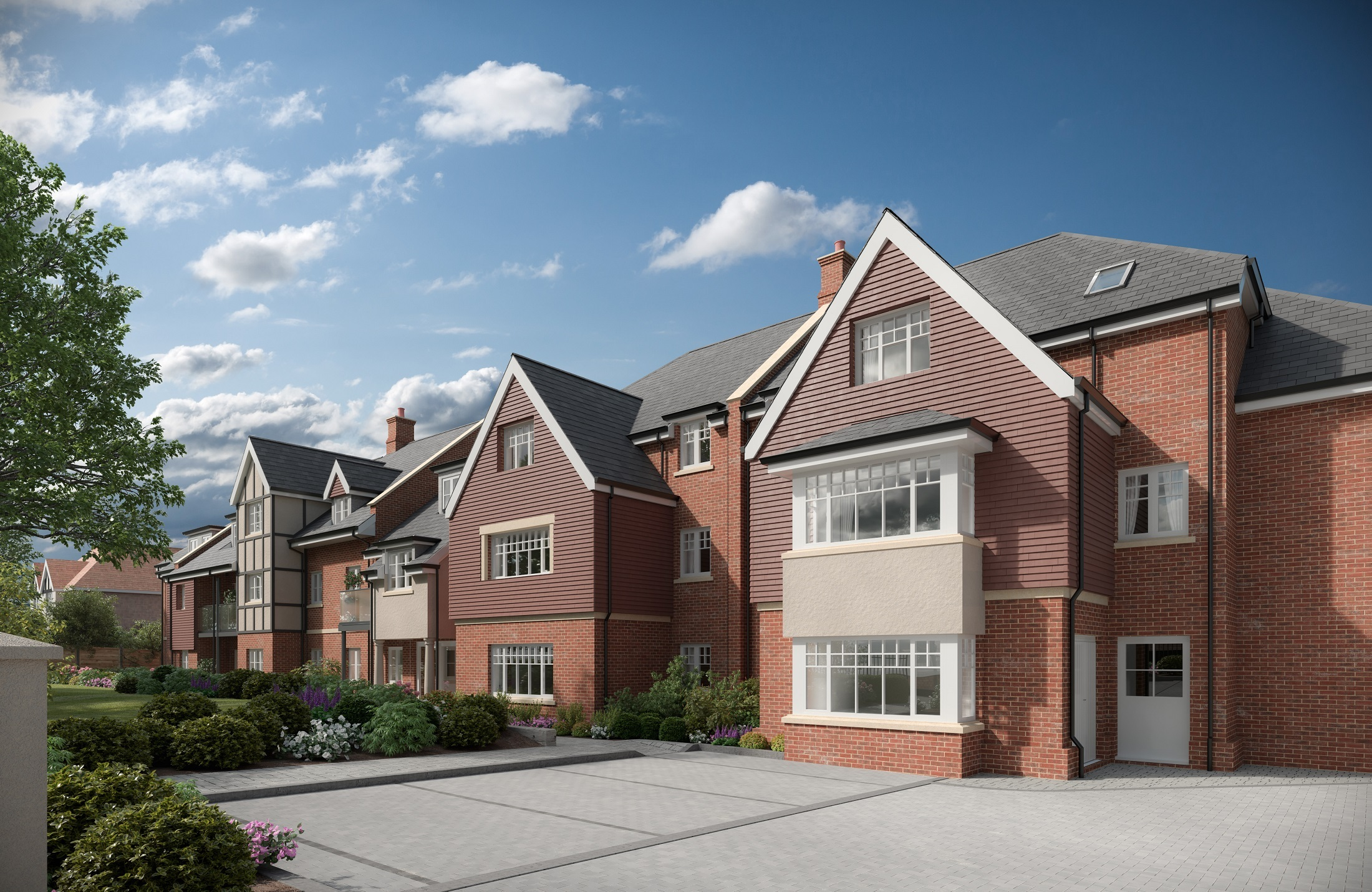 CGI image of what new Sanderstead retirement home will look like