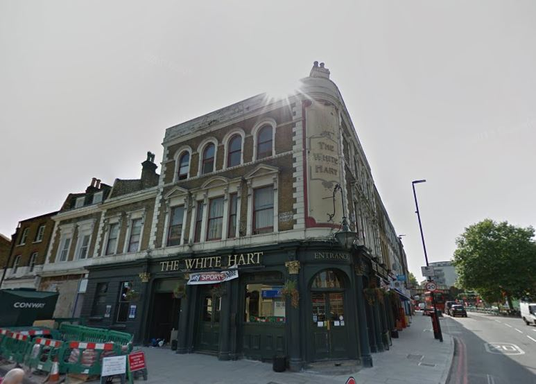 THe White Hart Pub is up for sale