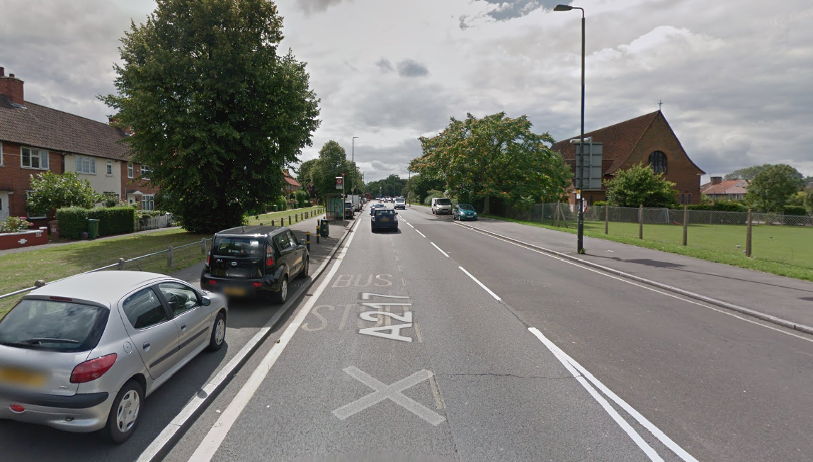 The A217 Bishopsford Road will be one-way, southbound between Mitcham and Rose Hill