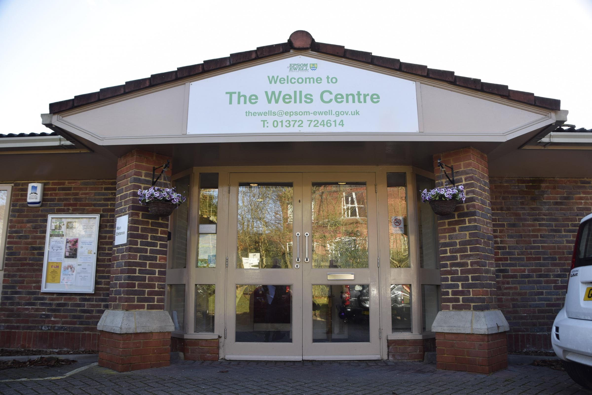 The Wells Centre site in Spa Drive is to be redeveloped.