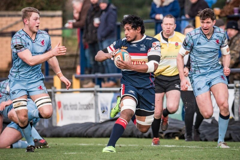 London Scottish were beaten 19-17 by Doncaster. Picture: Rod Wetton Photography