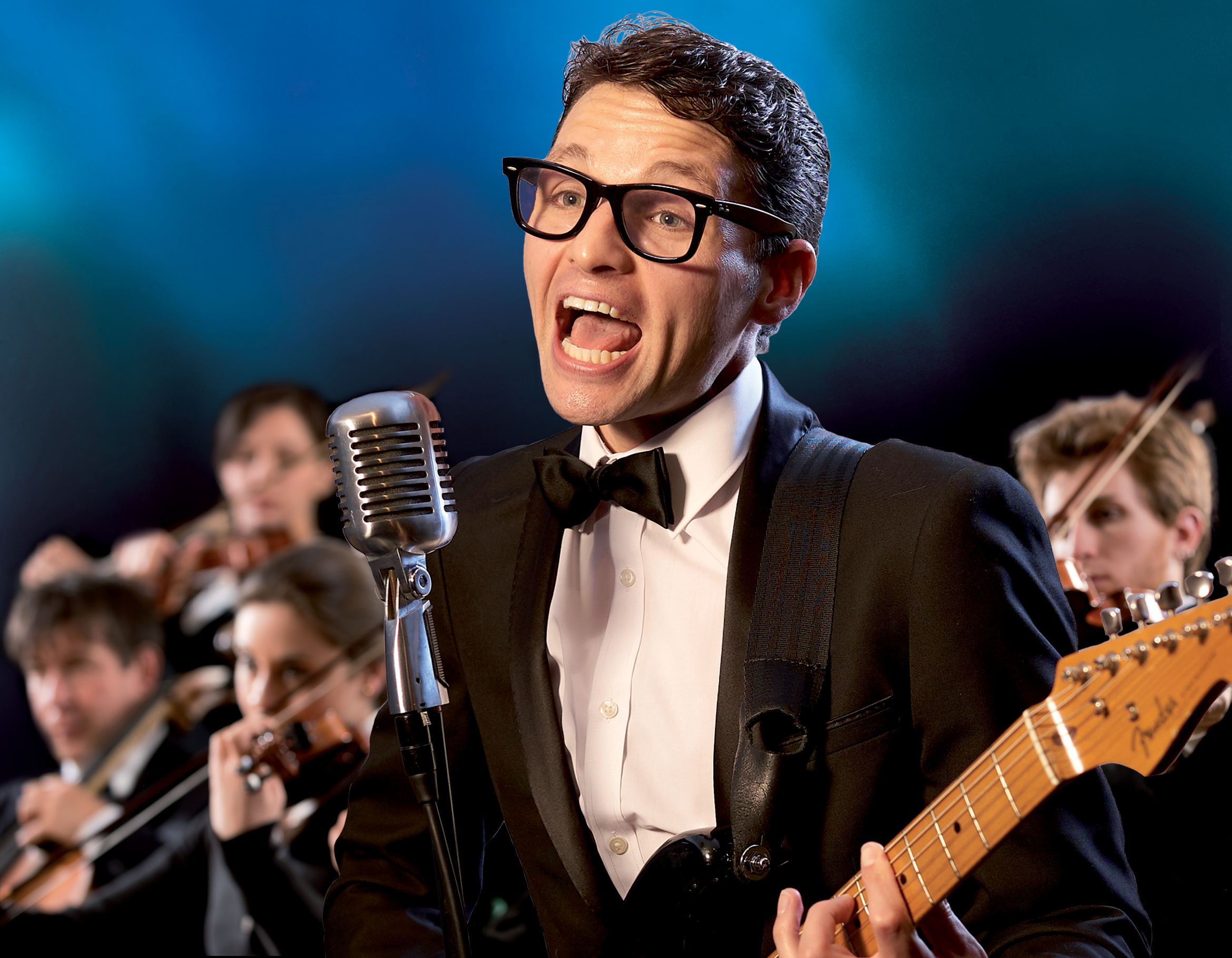 Buddy Holly and The Cricketers take to the stage at Richmond Theatre in March