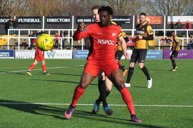 Christie Pattison scored the winner for Carshalton Athletic at Cray Wanderers on Saturday. Picture: Ian Gerrard