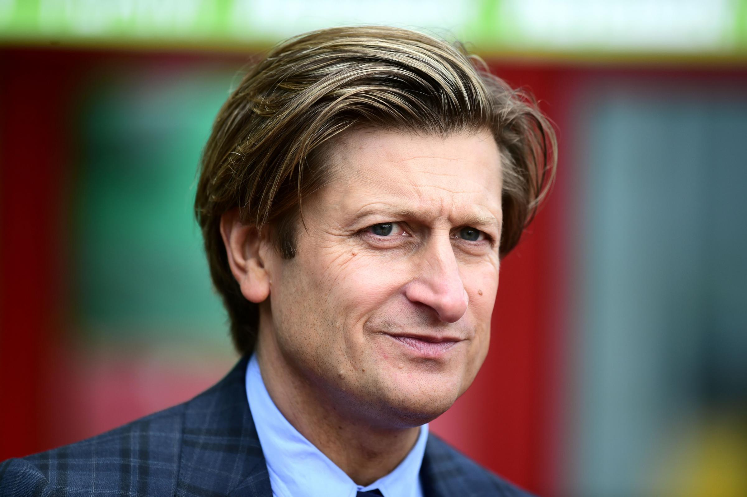 Crystal Palace chairman Steve Parish | Picture: PA