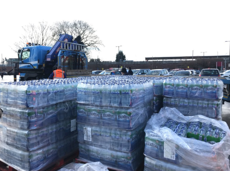 Thames Water supply shortage: Two south London sites allocated for bottled water