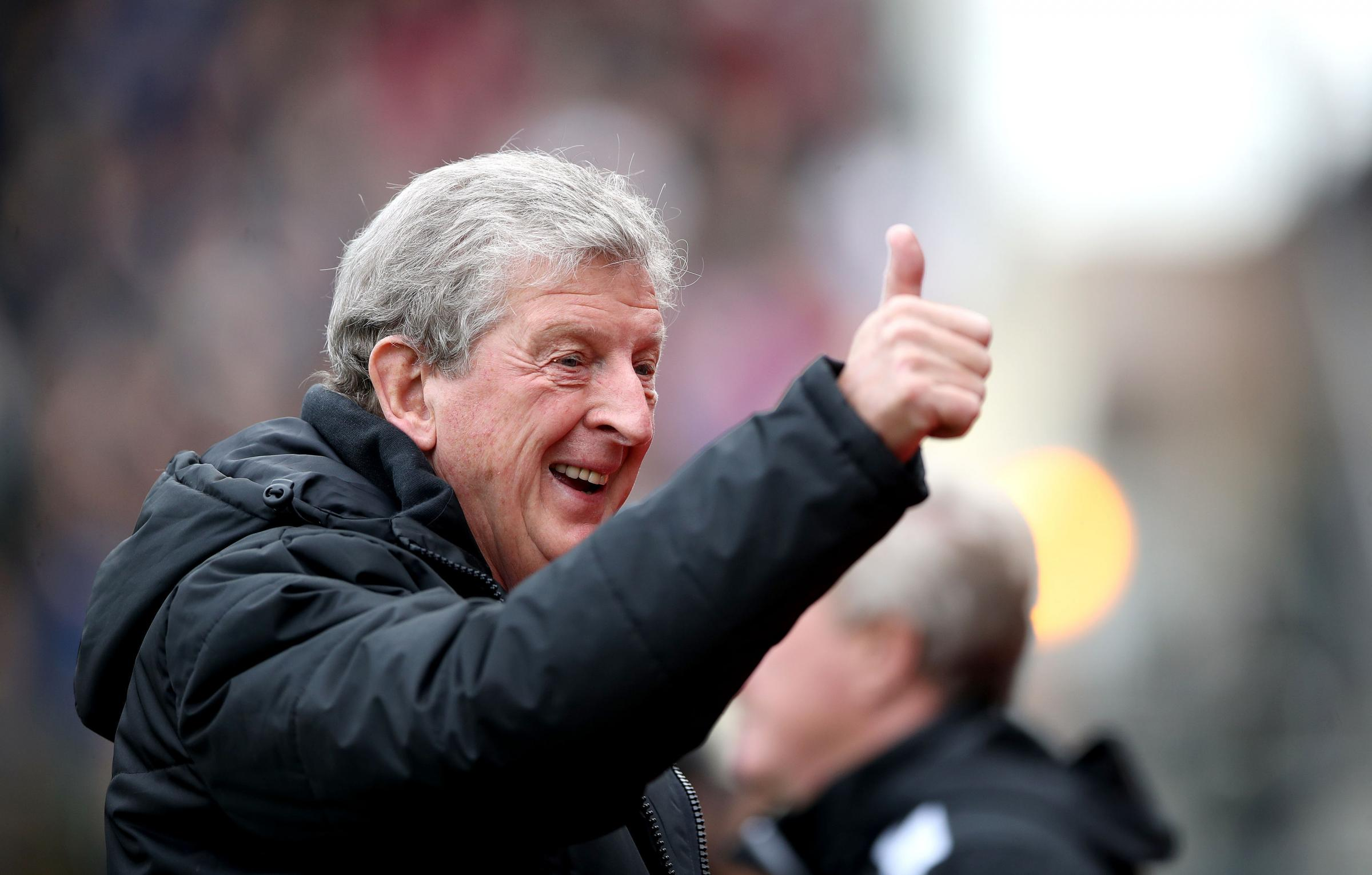 Crystal Palace manager Roy Hodgson | Picture: PA
