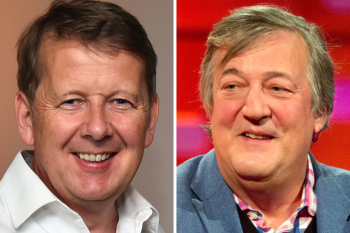 Bill Turnbull and Stephen Fry have both been diagnosed with prostate cancer