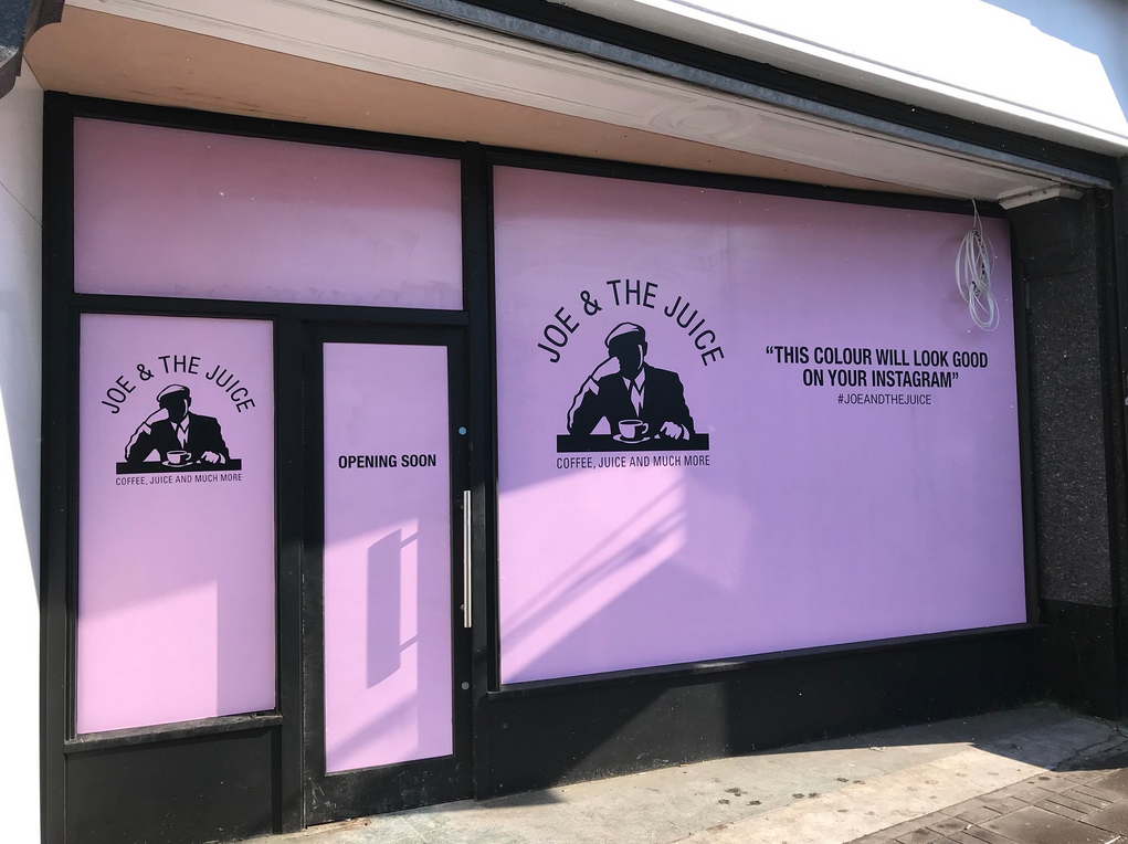 Joe & The Juice comes to Wimbledon Village. Photo: Wimbledonfoodie