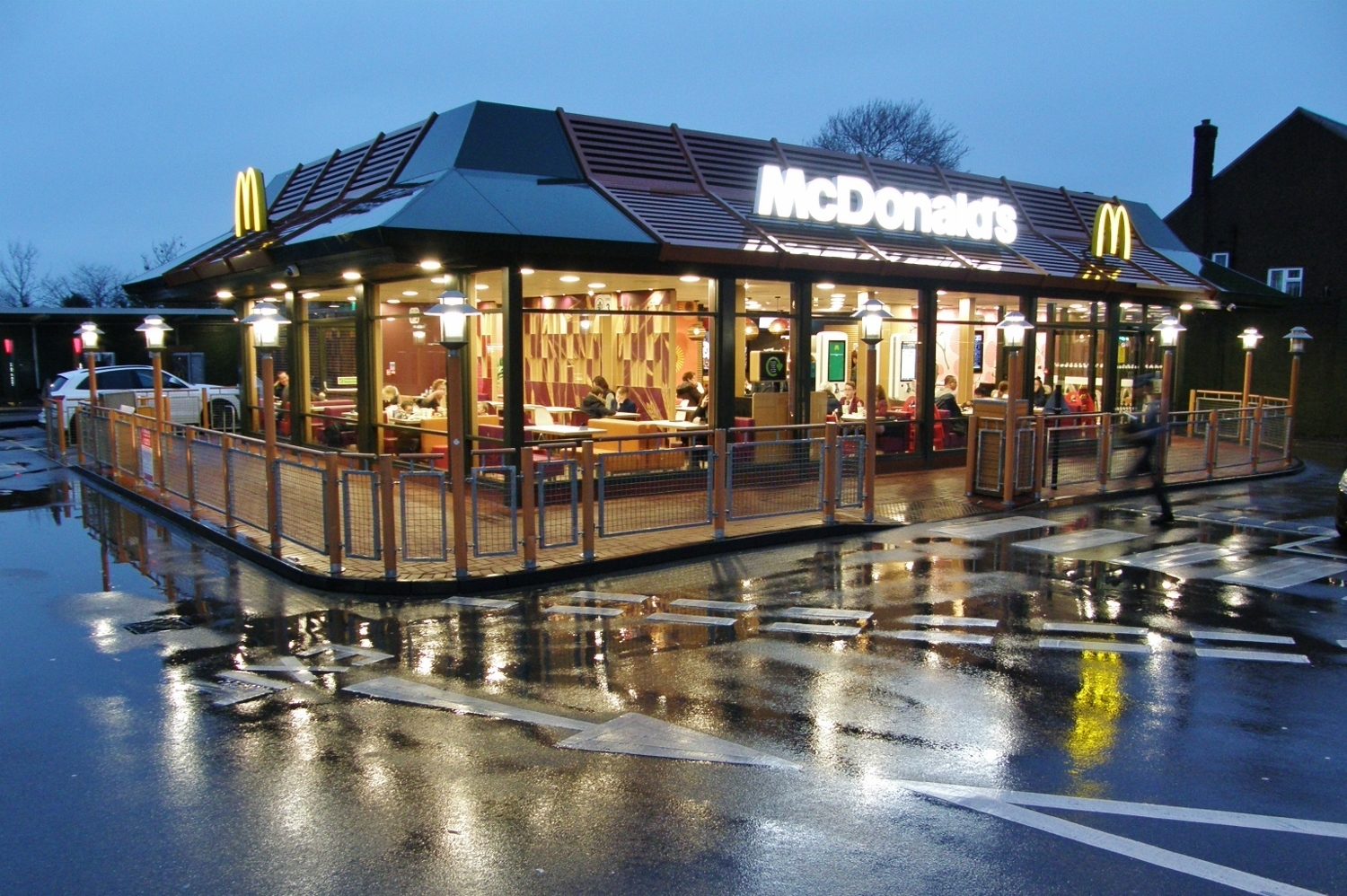 McDonald's restaurant in London Road, North Cheam. Photo: Richard Johnson