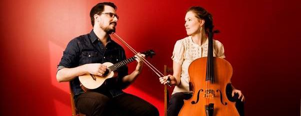 Canadian folk duo James Hill and Anne Janelle at Oval Tavern, Croydon