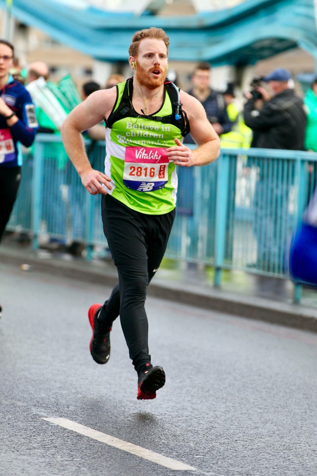 Purley electrician's marathon bid inspired by partner's work with Barnardo's