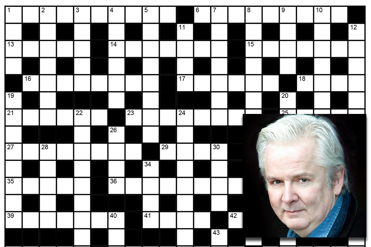 Puzzle expert Marc Brennan says he has devised the world's hardest ever crossword. Photos: SWNS