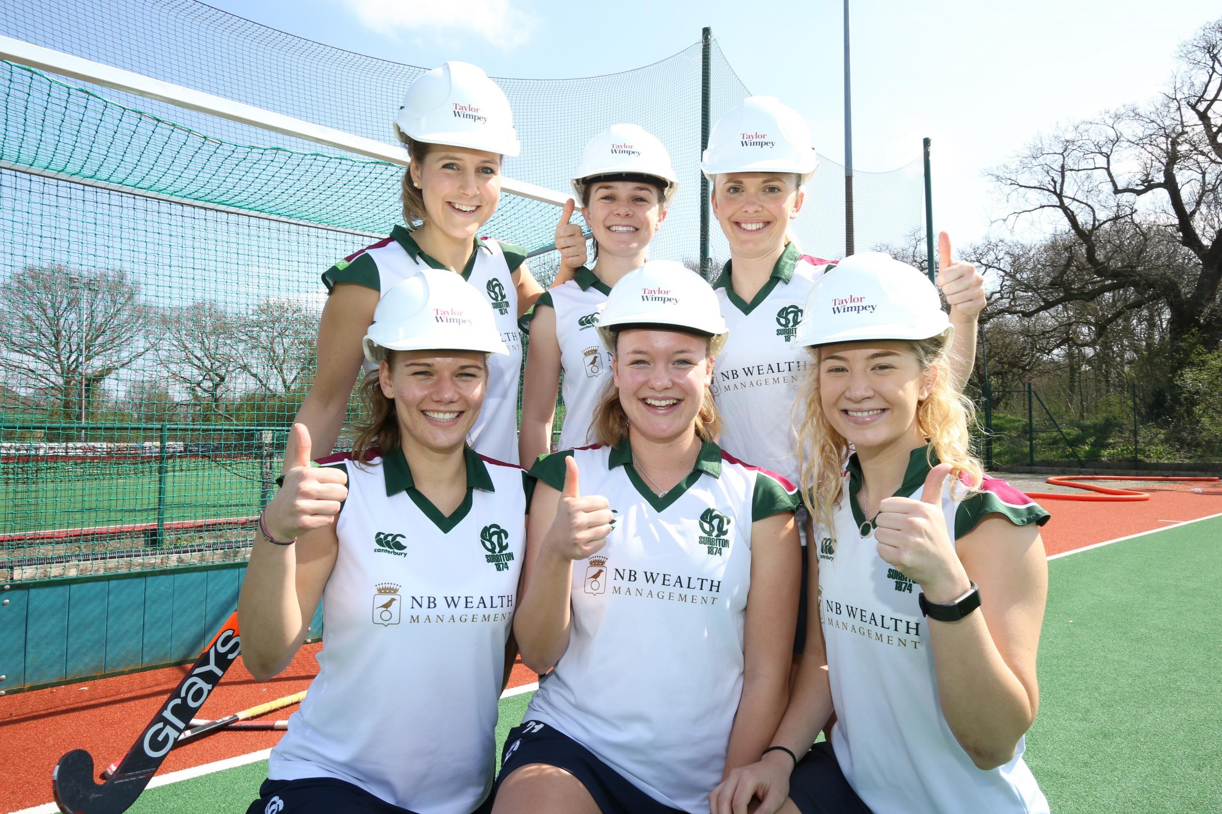 Surbiton Hockey Club wins prize after public vote