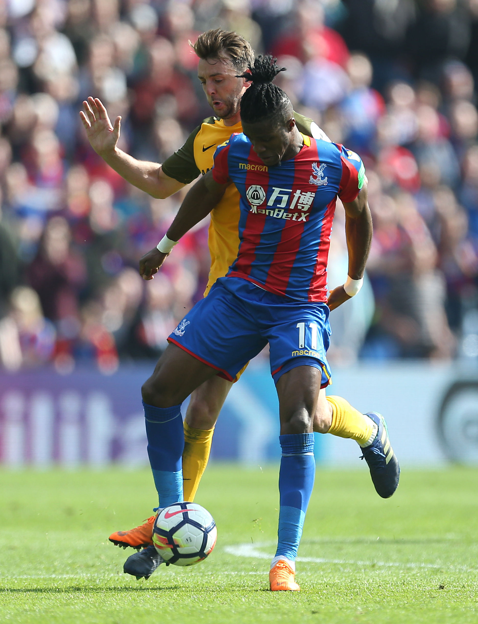 Wilfried Zaha | Picture: PA