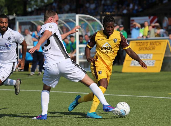 Sutton United were beaten 4-0 by Boreham Wood on Tuesday night. Picture: Paul Loughlin