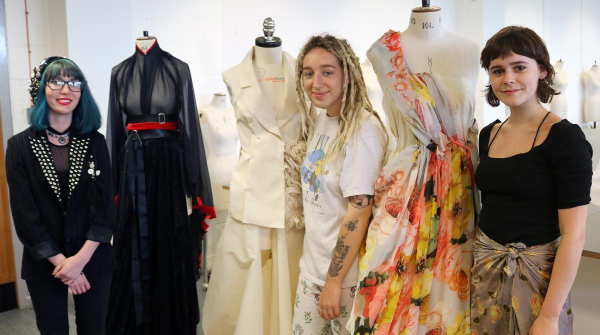 Kingston fashion students create alternative royal wedding dresses ...