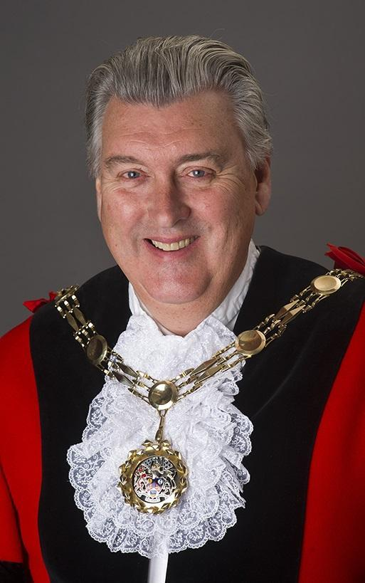 Mayor of Sutton and Wallington South councillor Steve Cook