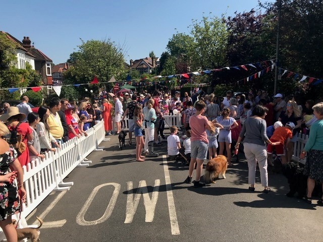Street party in Combemartin Street