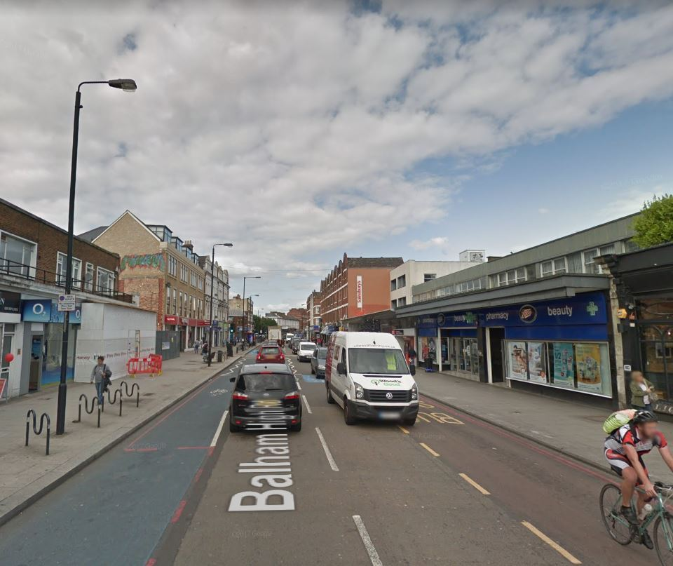Balham High Road. Photo: Google Maps / Street View